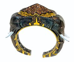 Matthew Campbell Laurenza Elephant Cuff