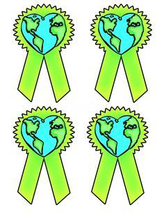 Dzień Ziemi - Odznaka / proporczyk Dzień Ziemi Kwiecień Święta i pory roku Aga, Diy And Crafts, Kindergarten, Education, Cool Stuff, Logos, Earth Day, School Projects, Environment