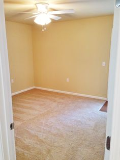 The cozy bedroom in a 1/1. Complete with a door to your patio! #azaleaplace