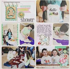 Project Life layout inspiration created using Little Bo Peep Collection. #CratePaper