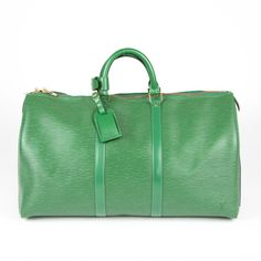 Make Vacation Time an Ease for all the Extras by Bringing Along a Louis Vuitton Epi Keepall 50