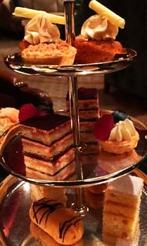 Stop at the Ritz-Carlton New York Central Park for a luxe afternoon tea experience you won't soon forget. While reclining in the room's plush chairs, enjoy some specialty teas and oversized scones fresh out of the oven paired with Devonshire cream and blueberry jam.