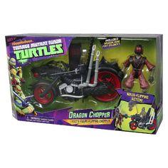 Teenage Mutant Ninja Turtle Dragon Cycle