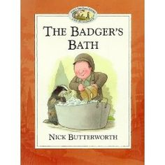 Percy Park Keeper. The Badger's Bath. Nick Butterworth. 23/01/15