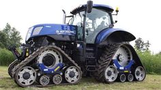 Tractor op rupsbanden
