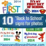 Linked to: www.happyandblessedhome.com/back-to-school-signs/