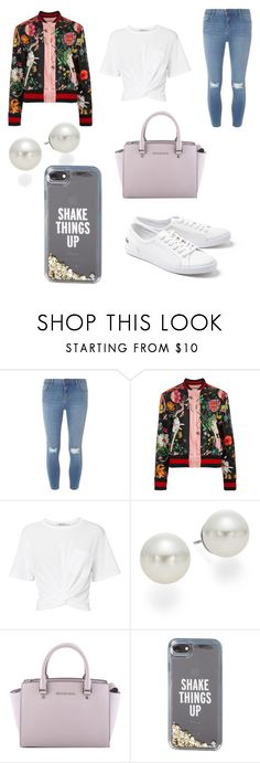 """""""Untitled #267"""" by alexandriamcbride on Polyvore featuring Dorothy Perkins, Gucci, T By Alexander Wang, AK Anne Klein, MICHAEL Michael Kors, Kate Spade and Lacoste"""