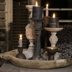 kitchen ideas – New Ideas Interior Design Trends, Interior Design Living Room, Candels, Candle Lanterns, Rustic Lighting, Interior Lighting, Home And Deco, Wabi Sabi, French Vintage