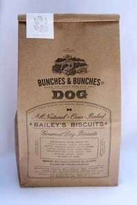 Bailey's Dog Biscuits, $14, bunchesandbunches