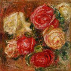Bouquet of Flowers - Pierre-Auguste Renoir