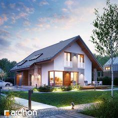 Finde Bau- und Einrichtungsprojekte von Experten für Ideen & Inspiration. Projekt domu ARCHON+ Dom w wisteriach von ARCHON+ PROJEKTY DOMÓW   homify