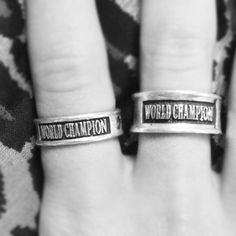 World Champion cheerleading rings. cheer