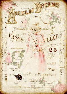 JanetK.Design Free digital vintage stuff: Achtergrondjes