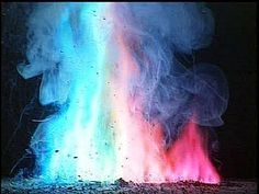 How to Change The Color of a Campfire Flame