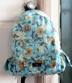 Dawn To Dusk Backpack PDF Sewing Pattern
