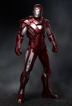 Iron Man 3 concept design by Andy Park
