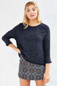 Ecote Jetty Cozy Thermal Top #UrbanOutfitters