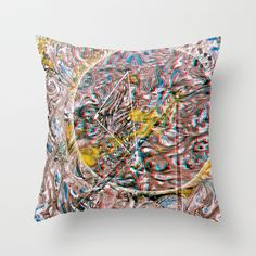 ex^is°tnz Throw Pillow by ChiTreeSign - $20.00