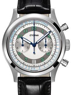 Eterna | Heritage Pulsometer Limited Edition 1942 | Edelstahl | Uhren-Datenbank watchtime.net