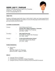 Sample Of Resume For Job Application Job Application Resume Template Resume Job Resume Cv Cover Letter, Sample Of Resume For Job Resume Examples For It Jobs Sample, Sample Of Resume For Job Resume Examples For It Jobs Sample,