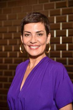 Cristina Cordula au défilé Jean Paul Gaultier le 5 juillet 2017