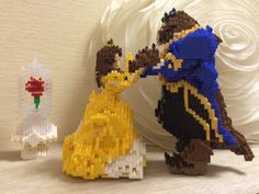 "nanoblock AWARD 2014 ""Dance"" Beauty & The Beast"