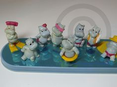 Ferrero Diorama Happy Hippo 1988 Nur Die Insel Ori Top | eBay