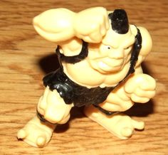 Vintage, Monsters In My Pocket, 1995, MEG, RARE, Vintage Monster Wrestler by BunkysVintageCrafts on Etsy