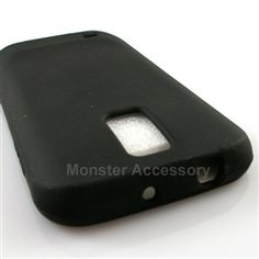 Click Image to Browse: $5.95 Black Silicone Soft Skin Gel Case Cover For Samsung Galaxy S2 (Hercules T989) T-Mobile