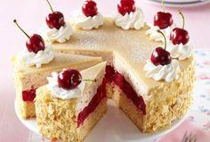 Kremasta torta od trešanja i badema