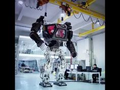 """METHOD-1"" manned robot project  by ""Korea Future Technology""  (주)한국미래기술..."