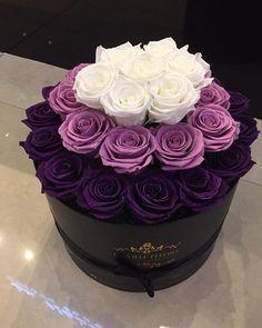 Arreglos florales en caja