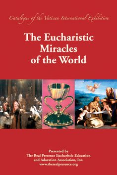 This long-awaited book based on an exhibit of photos and paintings sponsored by the Vatican, contains nearly 100 accounts of Eucharistic miracles from 17 different countries. The book features special sections on Eucharistic stories and miracles pertaining to various saints and Marian apparitions. It includes scientific analyses and references to historical documents, as well as numerous color photos accompanying each account…