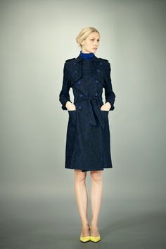 Erdem Pre-Fall 2012 Fashion Show - Kirsty Hume