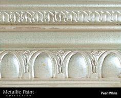 Pearl White metallic paint