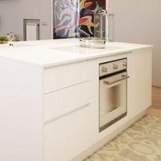 """piano cucina marmo arredo """"cambio vita cambio casa"""" cucine realizzate da Ar-Tre"""