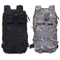 awesome 30L Hiking Camping Bag Army Military Tactical Trekking Rucksack Backpack Camo   Check more at http://harmonisproduction.com/30l-hiking-camping-bag-army-military-tactical-trekking-rucksack-backpack-camo/