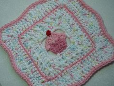 Cupcake Dishcloth Collection (5 Designs) By Doni Speigle - Purchased Crochet Patterns - (ravelry)