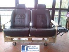 divano con  sedili auto by Leonardo Sinni