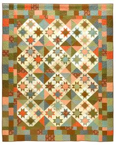 Glad Creations Patterns  Like this one.  Again a very simple quilt.