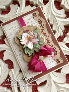 Magnolia Vintage Labels Seven and Ribbons, Tape and Lace | JustRite Papercraft Inspiration Blog