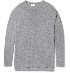 JOHN ELLIOTT  Pigtail Mercer Mélange Cotton-Blend Sweater