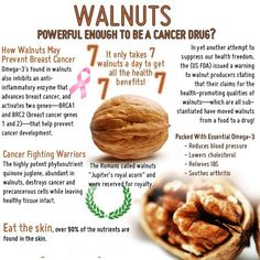 Walnuts are a sort of superfood