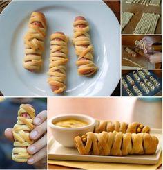 HALLOWEEN: Hot Dog Mummies