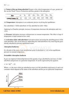 Surface Chemistry Class 12 Notes   Vidyakul Surface Chemistry Notes, Chemistry Class 12, Teacher, Professor, Teachers