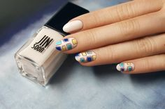 Elegant and sophisticated, this nail art is perfect for summer | Sephora Beauty Board #nailart
