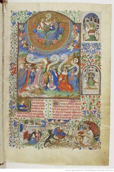 Titre : Bréviaire de Salisbury, fait pour le duc de Bedford. Date d'édition : 1430-1440 Type : manuscrit Latin 17294 8r