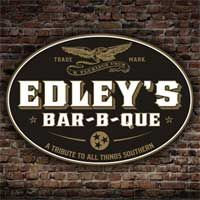 Edley's Bar-B-Que, Nashville, Tennessee. Featured in Taste of the South magazine.