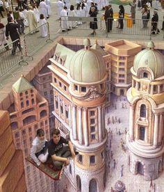 Chalk Art.. Just, wow. This stuff always amazes me!