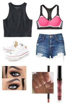 """Untitled #41"" by jemimacummings on Polyvore featuring Converse, Topshop and Aéropostale"